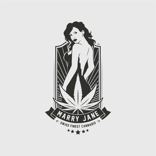 Marry Jane Swiss Finest Cannabis Logo