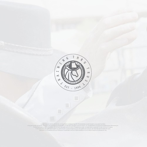 Elegant logo For Training Thru Trust