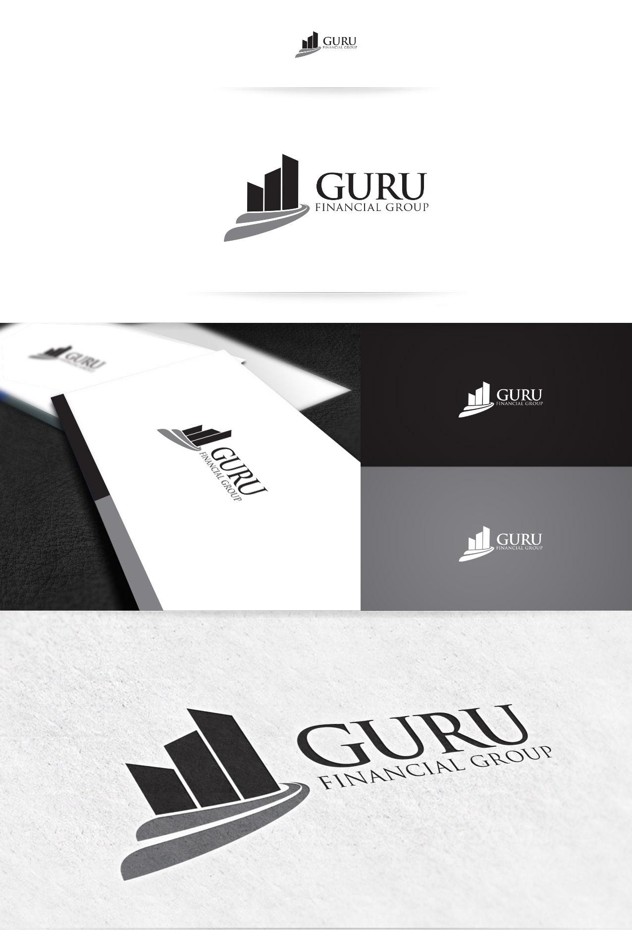 Guru Financial Group needs a new logo and business card