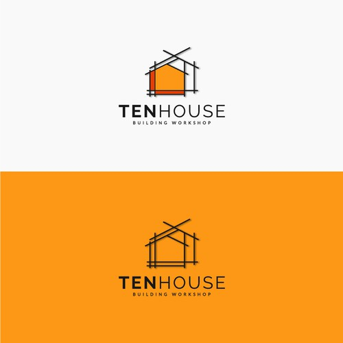 Winning Logo concept for Tenhouse Building Workshop