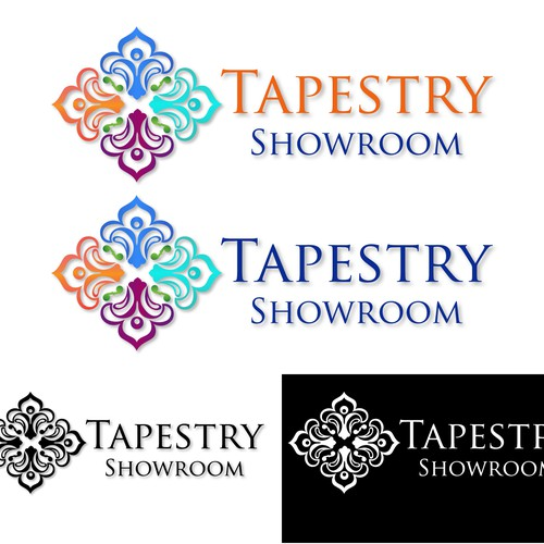 a colourful concept for tapestry