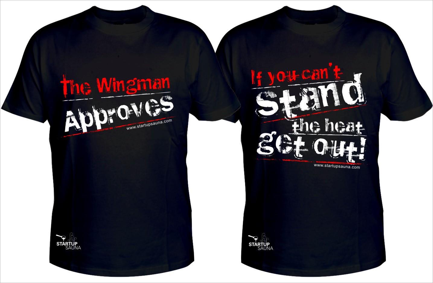 Startup Sauna needs a new t-shirt design