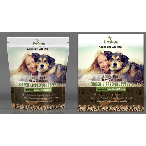 Label Design for a Pet Food Company
