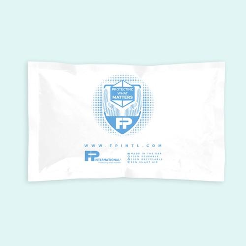 Logo and label design for FP International