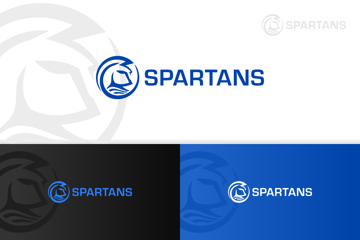 Create the next logo for Spartans