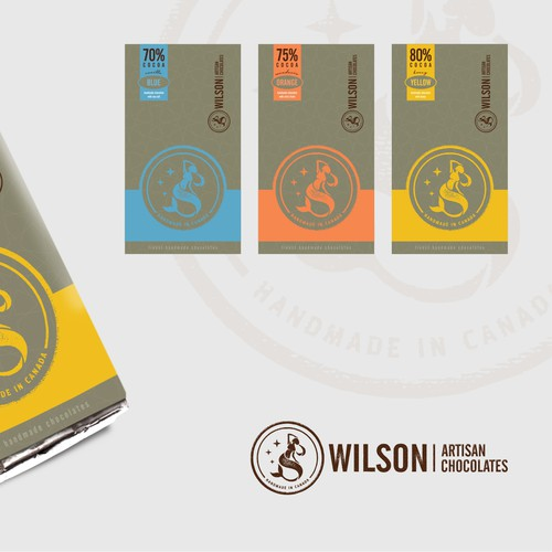 Wilson Artisan Chocolates - Branding Project