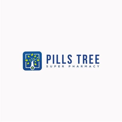 Logo Concept for PILLS TREE