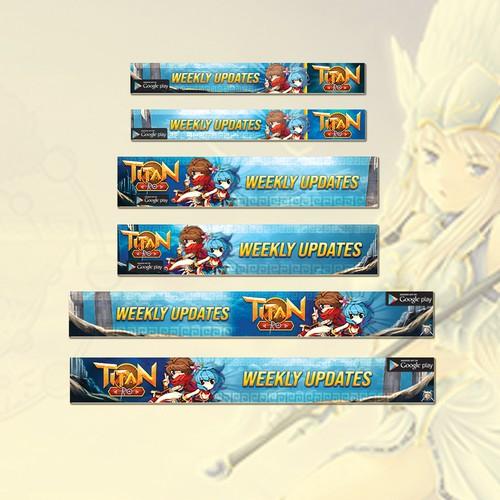 Anime game banner
