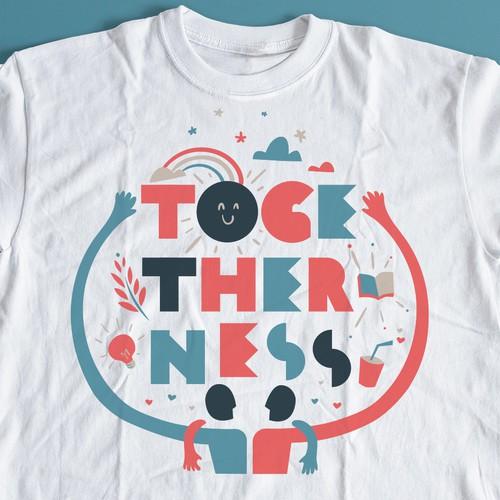 Togetherness T-Shirt Design