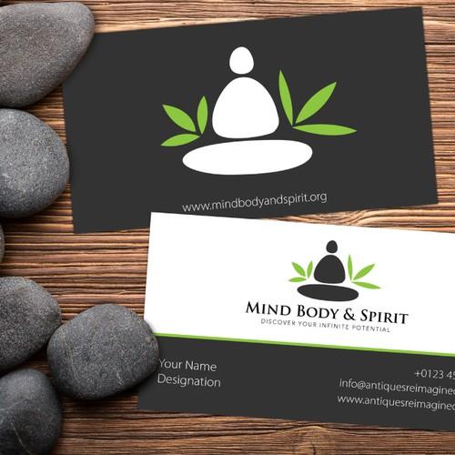 Creative Logo for MindBodyandSpirit.org
