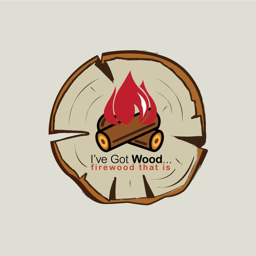 """Help """"I've Got Wood""""... with a new logo"""