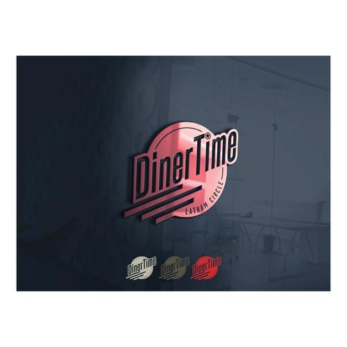 DinerTime Concept Logo
