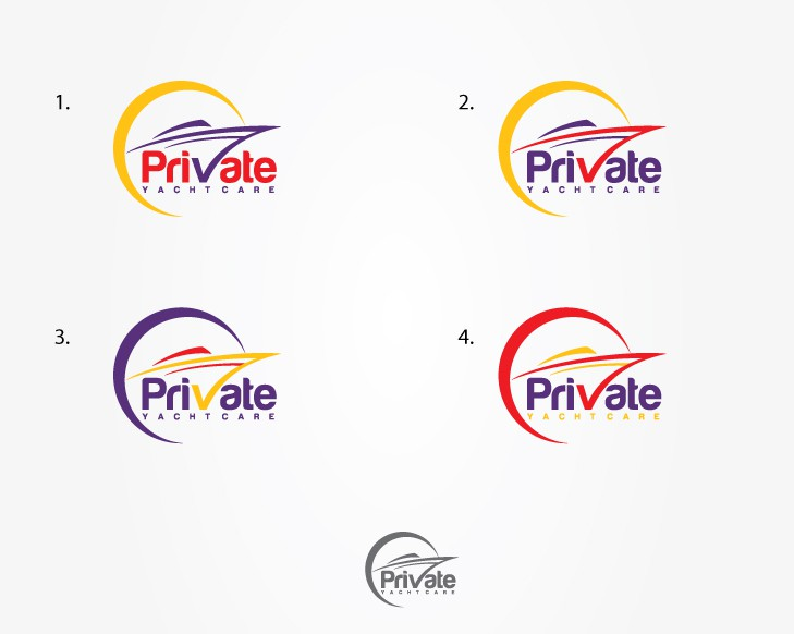 Private Yacht Care needs a new logo