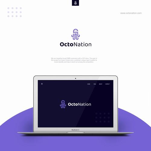"Design a logo for ""OctoNation"""