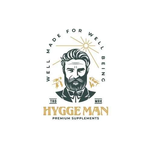 Logo for Hygge Man
