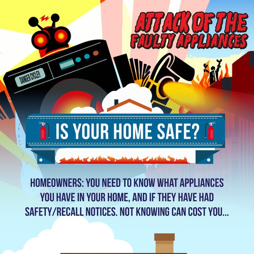 Home Safety Infographic.