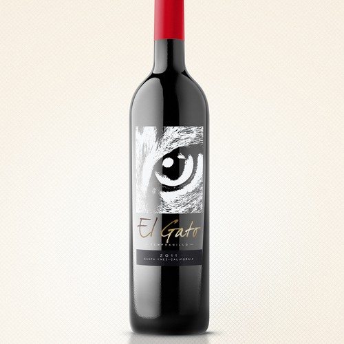 Wine Label - El Gato Tuerto