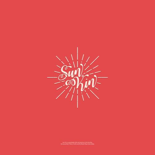 logo design for sun kin