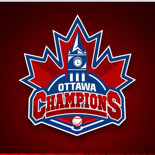Ottawa Champions Baseball Club Logo