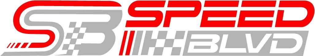 Speed Blvd- Auto Enthusiast website/youtube channel/apparel brand logo