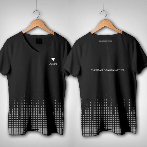 Design a T-Shirt for Auxoro, The Voice of Music Artists