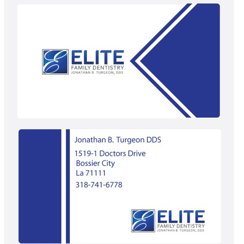 Elite Family Dentistry needs a new stationery