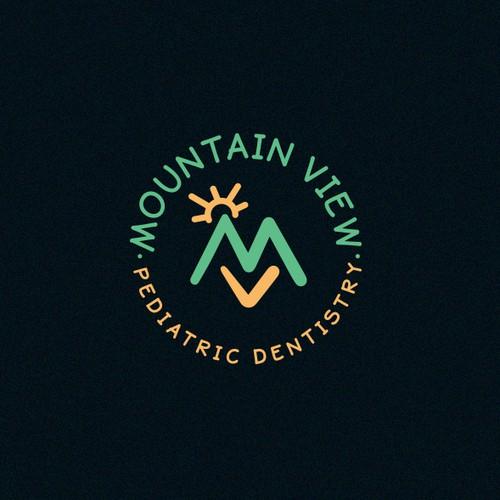 Dental Logo for Mountain View