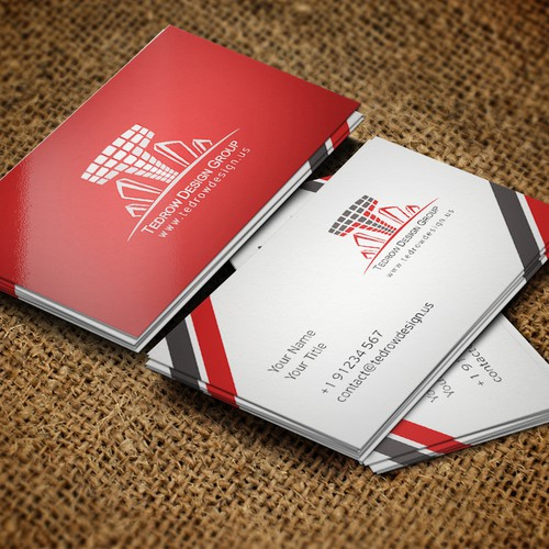 Create logo and business card for Tedrow Design Group