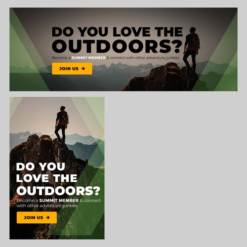 Banner Ad  for The Adventure Junkies