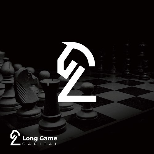 Chess-inspired design for new investment firm.
