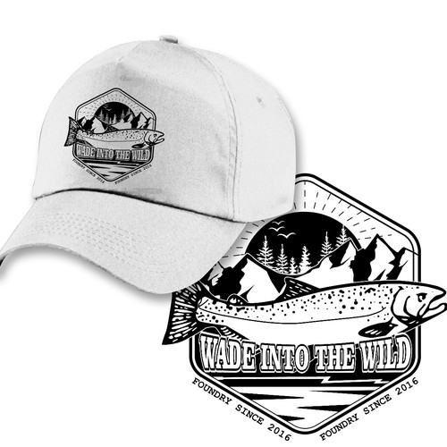 Hat design fly fishing