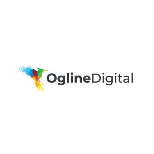Simple Digital Agency Logo