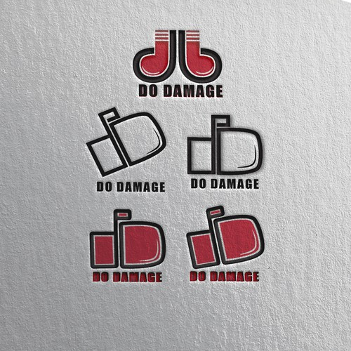 DO Damage Logo Design