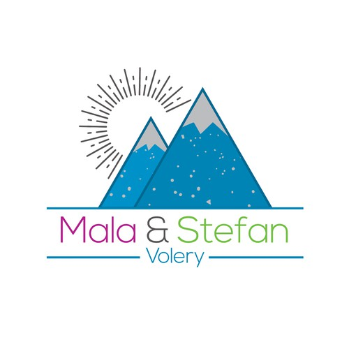 My Logo Design for Mala & Stefan Volery