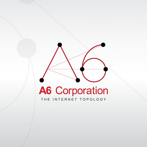 Create the next logo for A6 Corporation