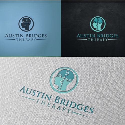 Mental health therapy logo design
