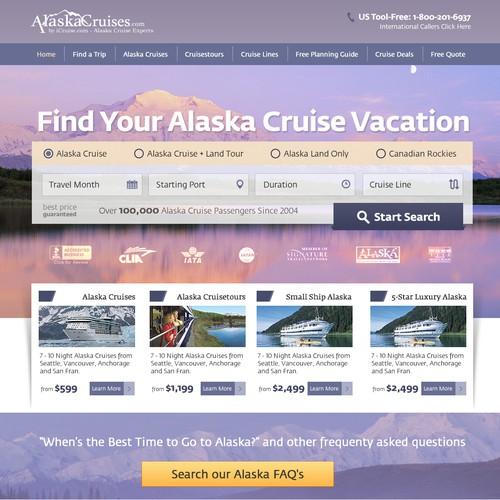 AlaskaCruises.com Home Page