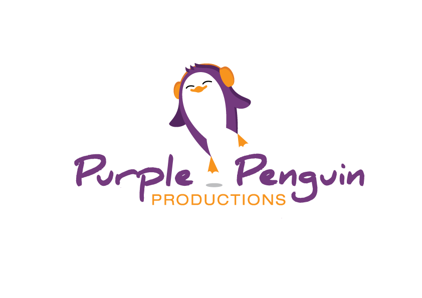 Help Purple Penguin Productions with a new logo
