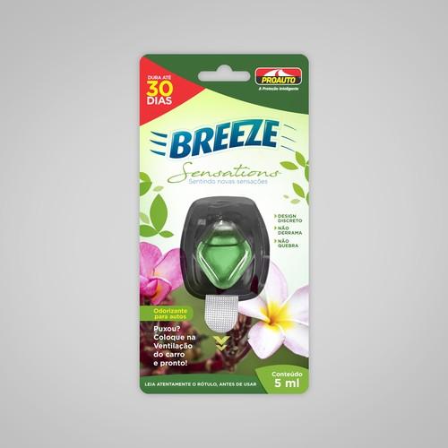 Embalagem Breeze Proauto