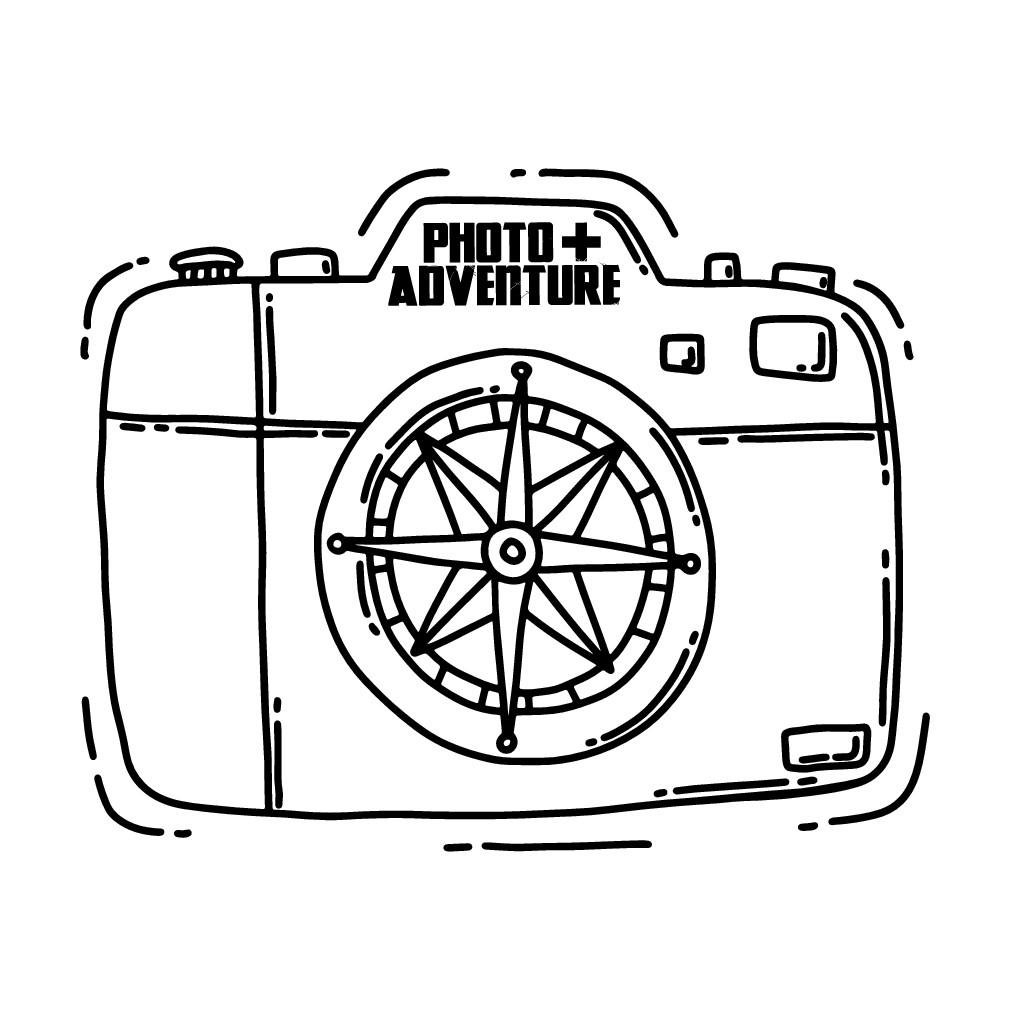 Photo+Adventure T-Shirt Design