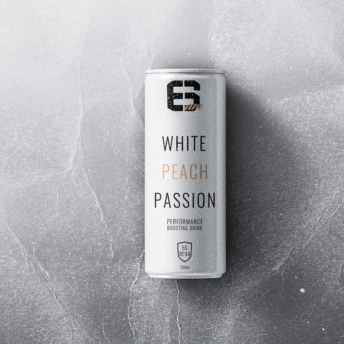 Sports Drink Can Design