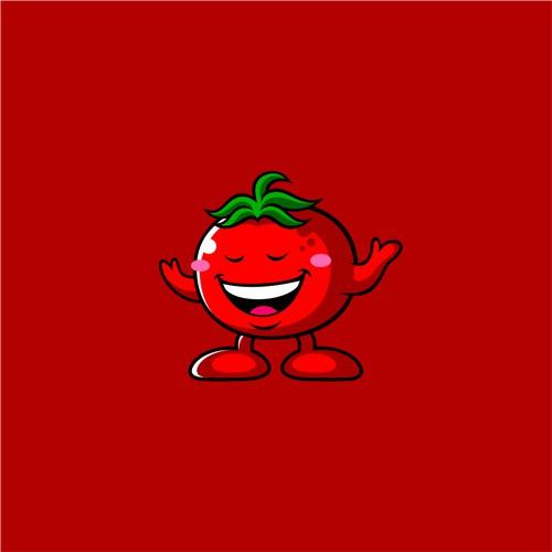tomato mascot for mr.tomato