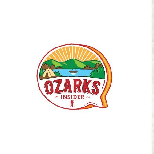 "Design the ""Ozarks Insider"" travel & family-focused tourism website's Logo & website essentials!"