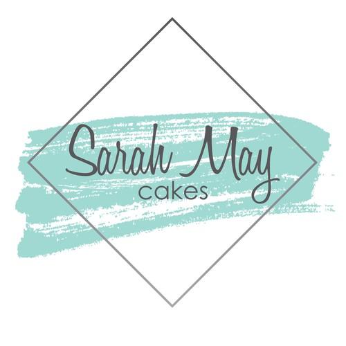 Sarah May Cakes Logo Concept
