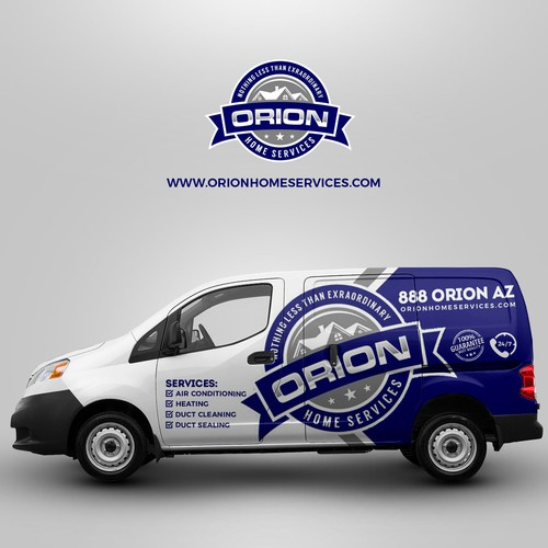 Car Wrap design for ORION