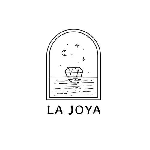 Logo for a mexican hotel offering spiritual retreats
