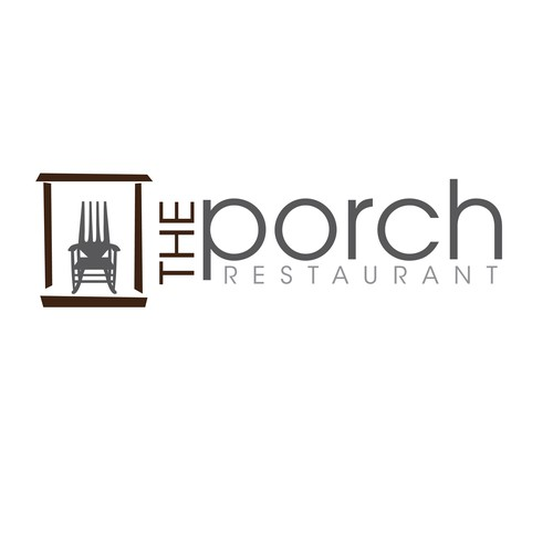 Winning logo for The Porch