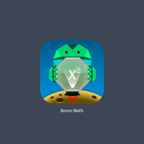 App Icon For BoomMath