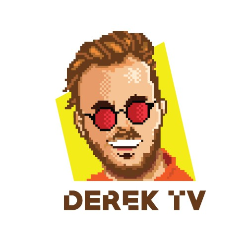 Pixel Art logo For a YouTuber