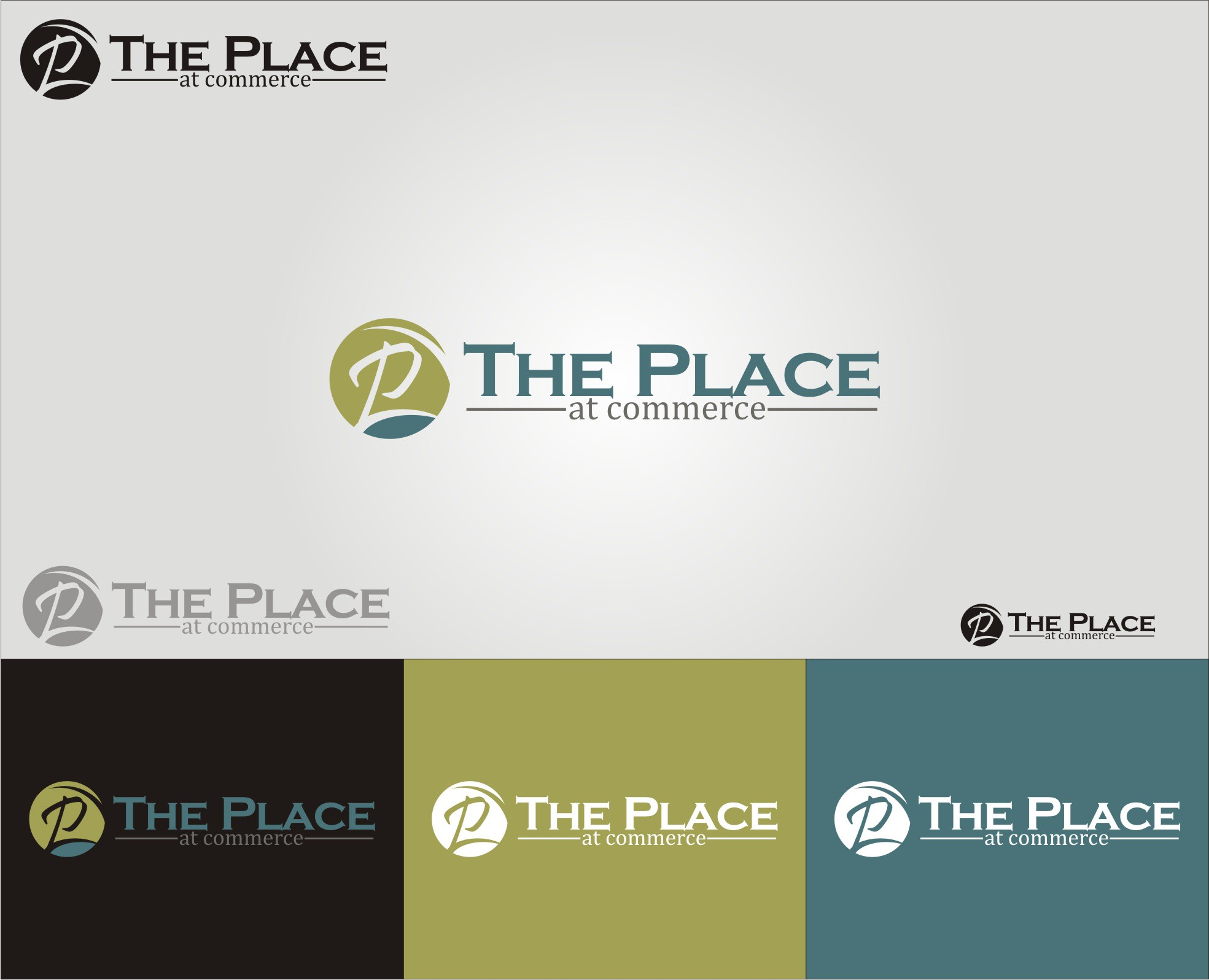 Create the next logo for The Place at Commerce